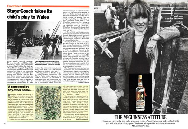 Article Preview: Stage-Coach takes its child's play to Wales, March 1979 | Maclean's