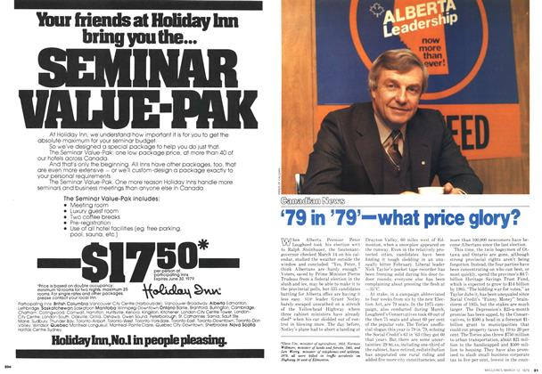 Article Preview: '79 in '79'—what price glory?, March 1979 | Maclean's