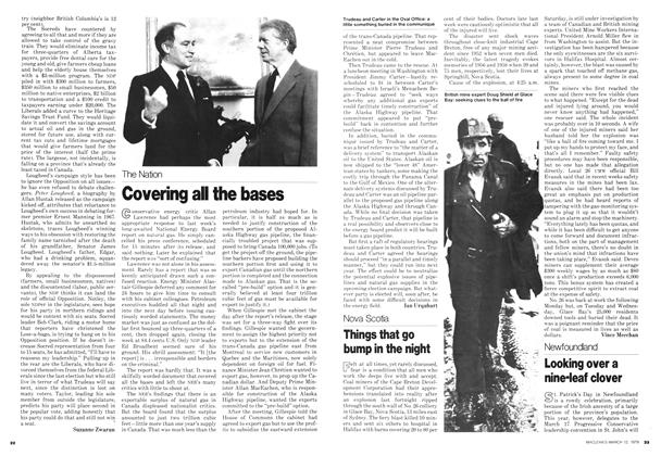 Article Preview: Looking over a nine-leaf clover, March 1979 | Maclean's