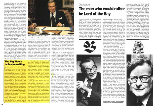 Article Preview: The man who would rather be Lord of the Bay, March 1979 | Maclean's