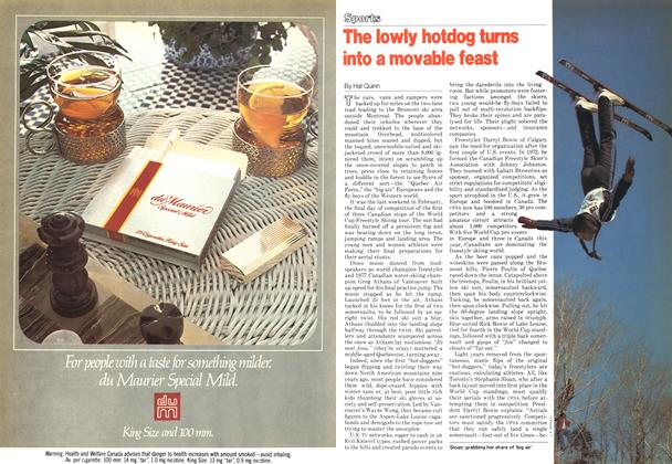 Article Preview: The lowly hotdog turns into a movable feast, March 1979 | Maclean's