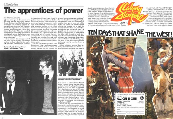 Article Preview: The apprentices of power, March 1979 | Maclean's