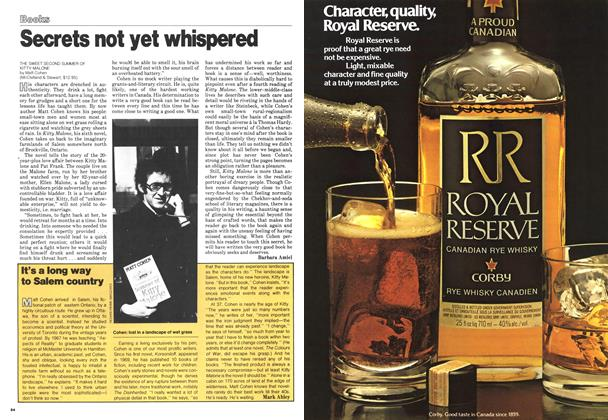 Article Preview: Secrets not yet whispered, March 1979 | Maclean's