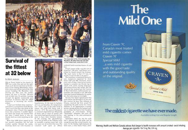 Article Preview: Survival of the fittest at 32 below, March 1979 | Maclean's