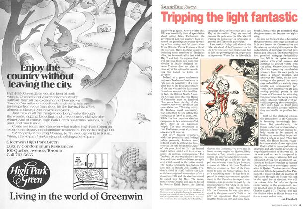 Article Preview: Tripping the light fantastic, March 1979 | Maclean's