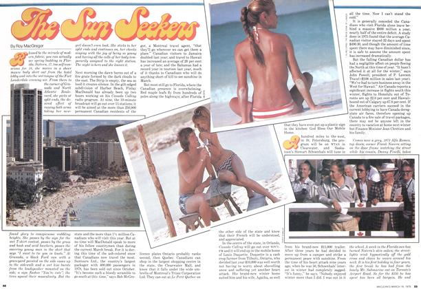 Article Preview: The Sun Seekers, March 1979 | Maclean's