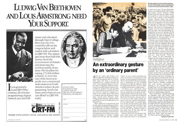 Article Preview: An extraordinary gesture by an 'ordinary parent', March 1979 | Maclean's