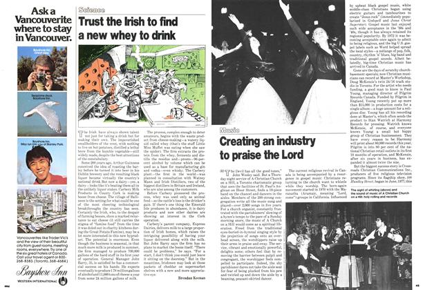Article Preview: Creating an industry to praise the Lord, March 1979 | Maclean's