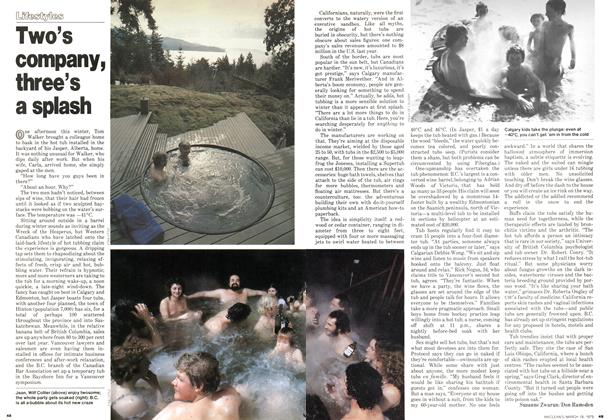 Article Preview: Two's company, three's a splash, March 1979   Maclean's