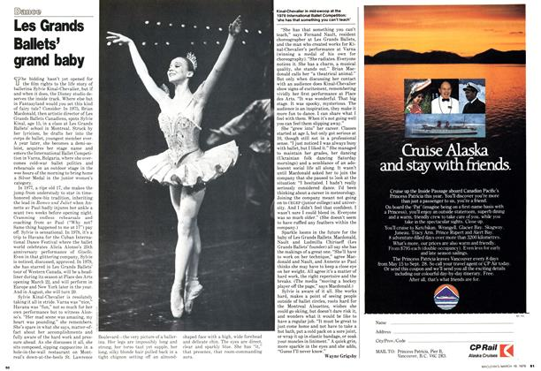 Article Preview: Les Grands Ballets' grand baby, March 1979 | Maclean's