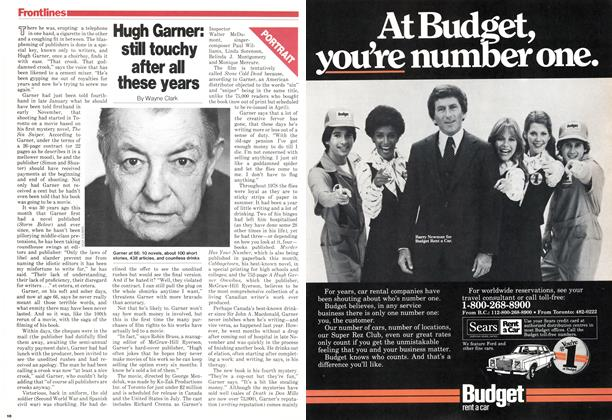 Article Preview: Hugh Gamer: still touchy after all these years, March 1979 | Maclean's