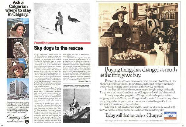 Article Preview: Sky dogs to the rescue, March 1979 | Maclean's