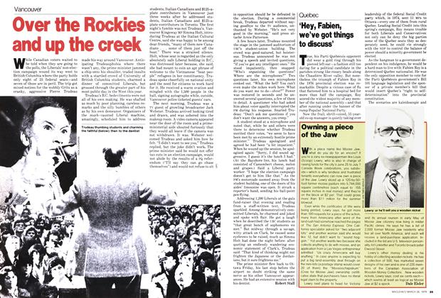 Article Preview: Over the Rockies and up the creek, March 1979 | Maclean's