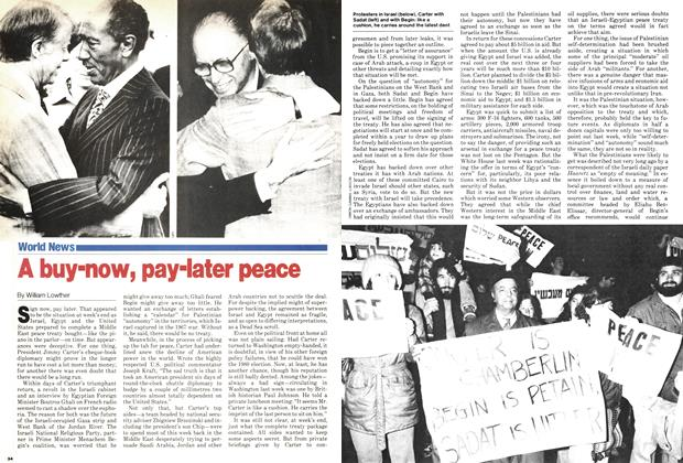 Article Preview: A buy-now, pay-later peace, March 1979 | Maclean's