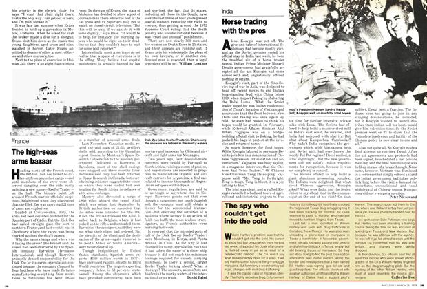 Article Preview: The high-seas arms bazaar, March 1979 | Maclean's