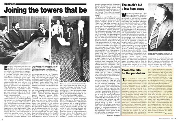Article Preview: From the pits to the pendulum, March 1979 | Maclean's