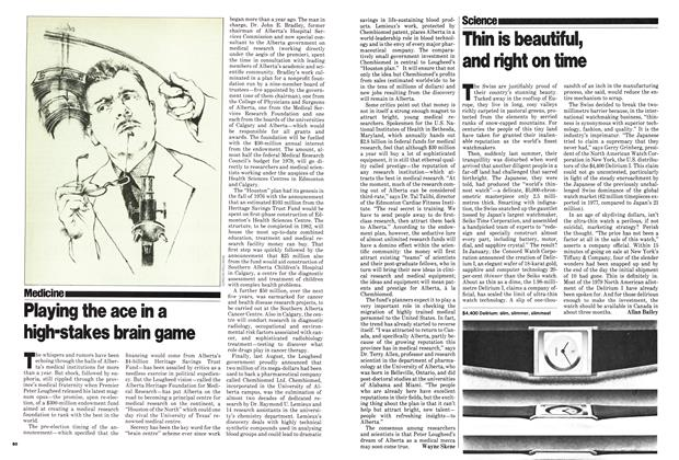 Article Preview: Playing the ace in a high-stakes brain game, March 1979 | Maclean's