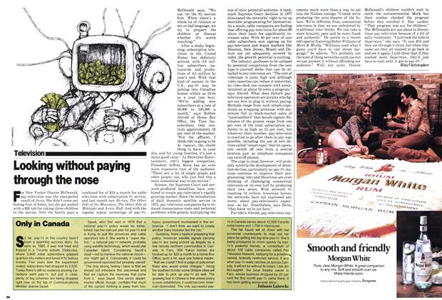 Article Preview: Looking without paying through the nose, March 1979 | Maclean's