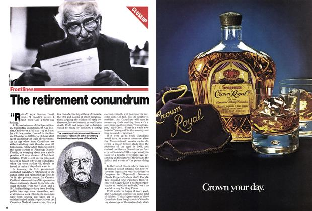 Article Preview: The retirement conundrum, March 1979 | Maclean's
