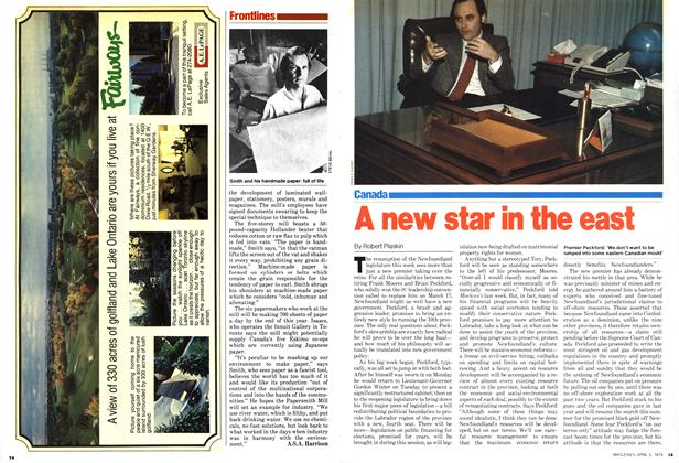Article Preview: A new star in the east, April 1979 | Maclean's