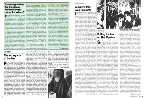 Article Preview: The wrong arm of the law, April 1979 | Maclean's