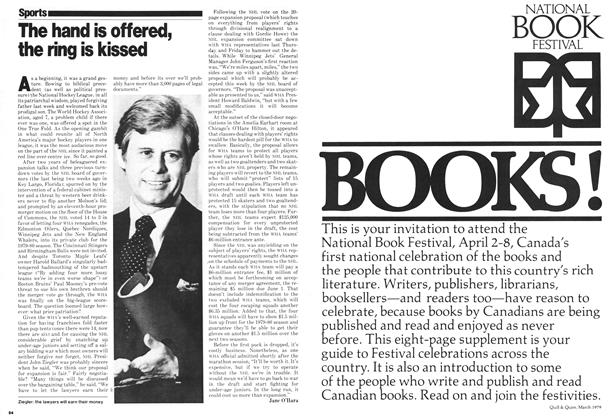Article Preview: The hand is offered, the ring is kissed, April 1979 | Maclean's