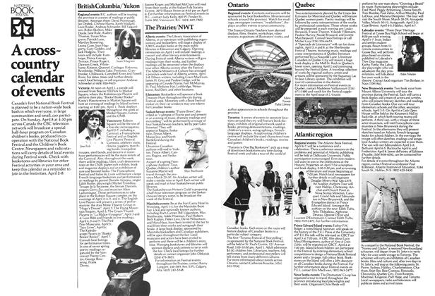 Article Preview: A cross-country calendar of events, April 1979 | Maclean's
