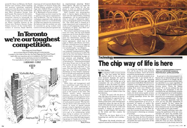 Article Preview: The chip way of life is here, April 1979 | Maclean's