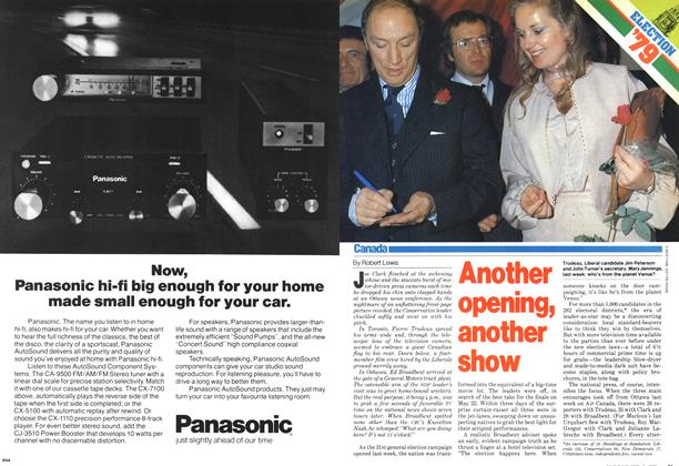 Article Preview: Another opening, another show, April 1979 | Maclean's