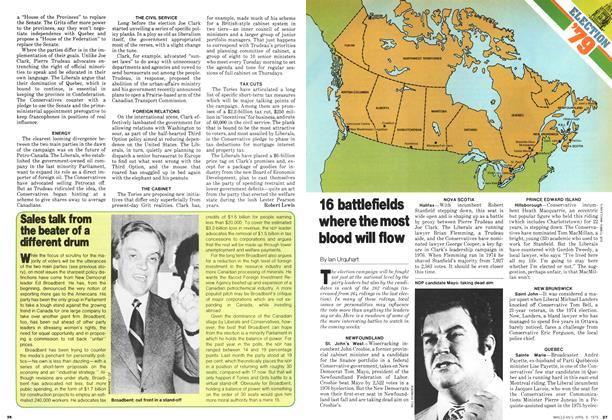 Article Preview: 16 battlefields where the most blood will flow, April 1979 | Maclean's