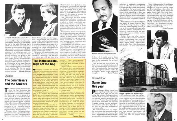 Article Preview: Tall in the saddle, high off the hog, April 1979 | Maclean's