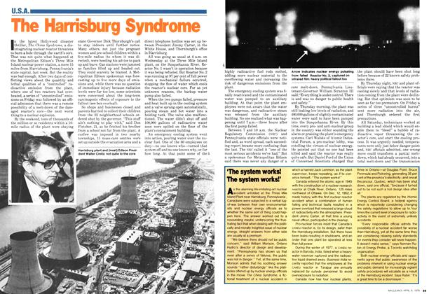 Article Preview: The Harrisburg Syndrome, April 1979 | Maclean's