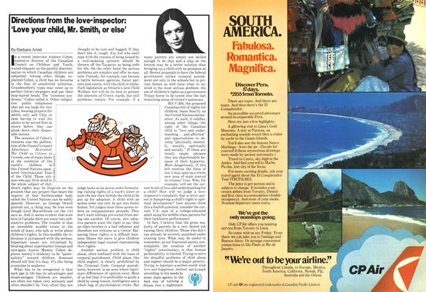 Article Preview: Directions from the love-inspector: 'Love your child, Mr. Smith, or else', April 1979   Maclean's