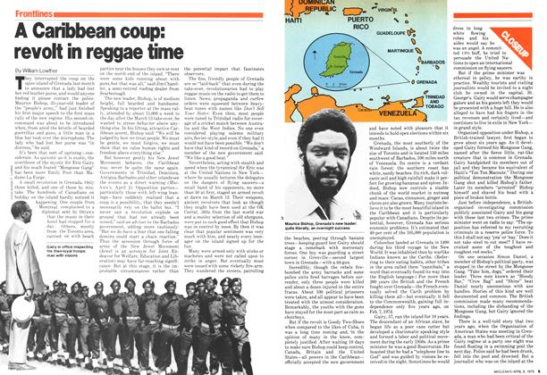 Article Preview: A Caribbean coup: revolt in reggae time, April 1979 | Maclean's