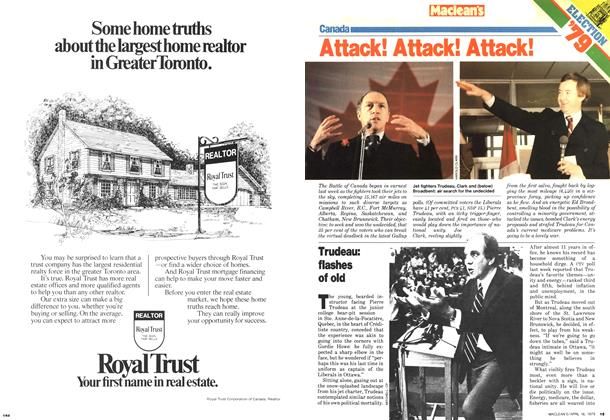 Article Preview: Trudeau: flashes of old, April 1979 | Maclean's