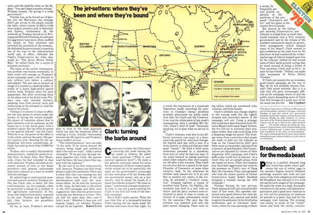 Article Preview: Broadbent: all for the media beast, April 1979 | Maclean's