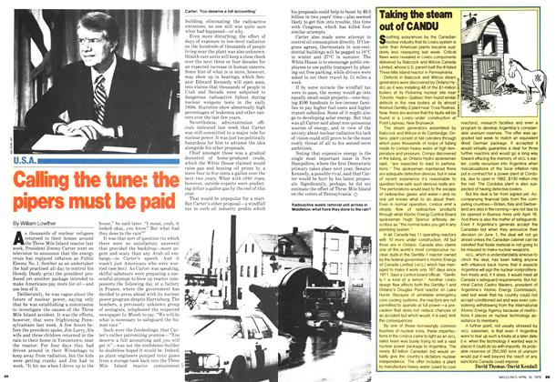 Article Preview: Calling the tune: the pipers must be paid, April 1979 | Maclean's