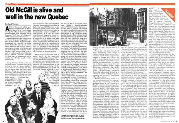 Article Preview: Old McGill is alive and well in the new Quebec, April 1979 | Maclean's