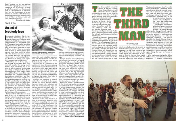 Article Preview: An act of brotherly love, April 1979 | Maclean's