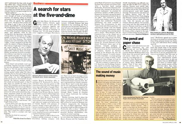 Article Preview: A search for stars at the five-and-dime, April 1979 | Maclean's