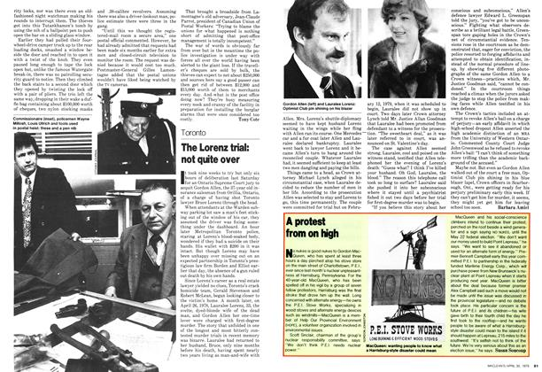 Article Preview: The Lorenz trial: not quite over, April 1979 | Maclean's