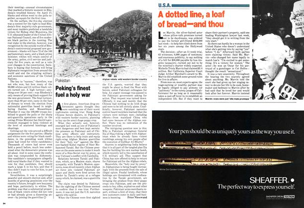 Article Preview: Peking's finest fuel a holy war, April 1979 | Maclean's