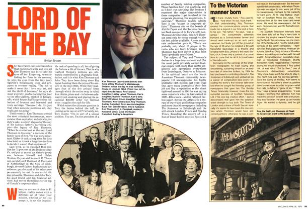 Article Preview: LORD OF THE RAY, April 1979 | Maclean's