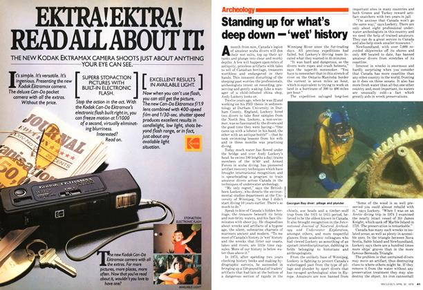 Article Preview: Standing up for what's deep down — 'wet' history, April 1979 | Maclean's
