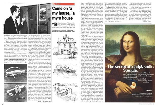 Article Preview: Come on 'a my house, 'a my-a house, April 1979 | Maclean's