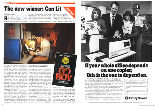 Article Preview: The new winner: Con Lit, April 1979 | Maclean's