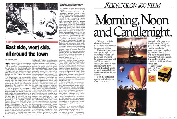 Article Preview: East side, west side, all around the town, May 1979 | Maclean's