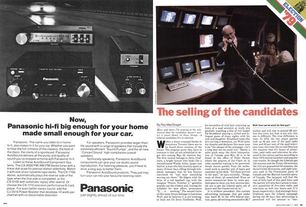 Article Preview: The selling of the candidates, May 1979 | Maclean's