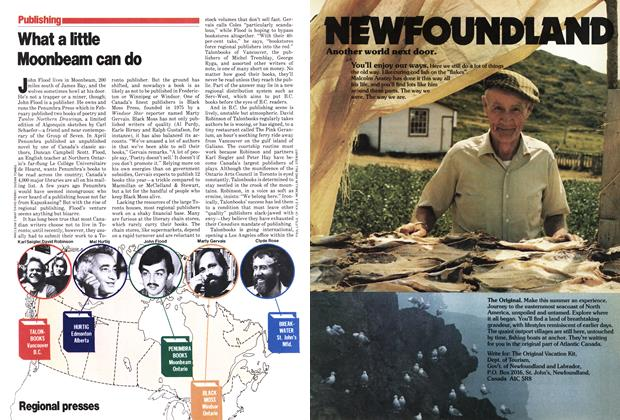 Article Preview: What a little Moonbeam can do, May 1979 | Maclean's