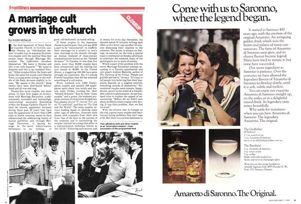 Article Preview: A marriage cult grows in the church, May 1979 | Maclean's